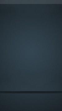 Clean Blue Gray Homescreen