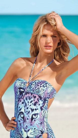 Erin Heatherton Victoria's Secret Swimwear