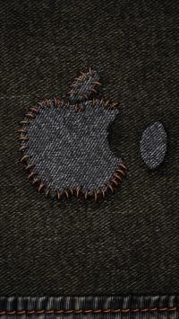 Jeans Apple Logo