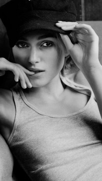 Keira Knightley Black and White