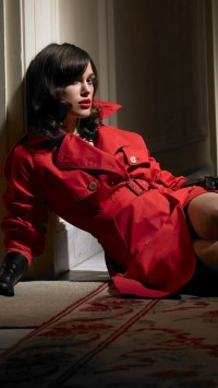 Keira Knightley Red Trench Coat