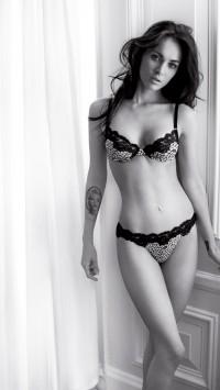 Megan Fox Lingerie Tattoo