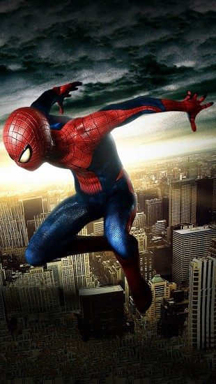 Spiderman In The Air