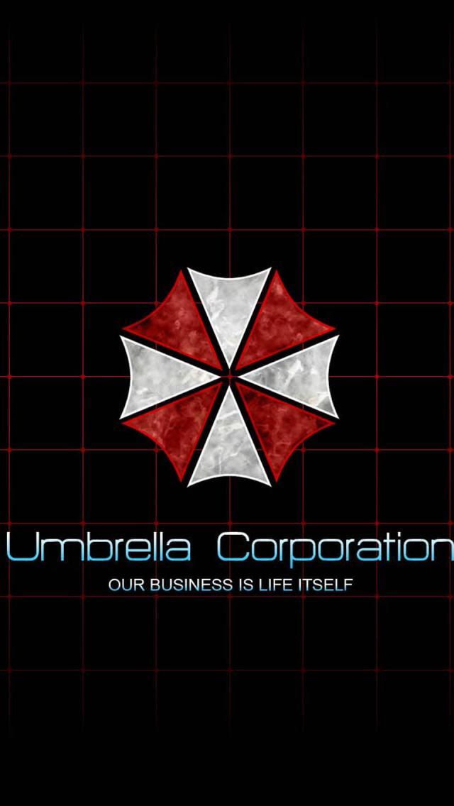 Umbrella Corporation Logo The Iphone Wallpapers