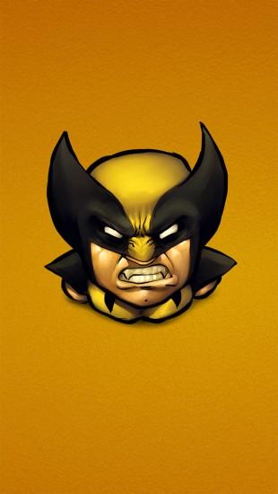 X-Men Wolverine Yellow