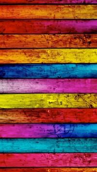 Colorful Hardwood