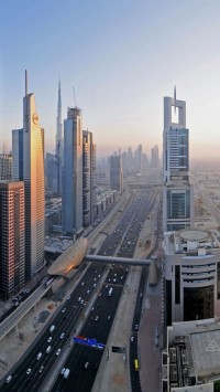 Downtown Dubai Widescreen