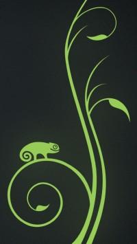 OpenSUSE 12.3 Logo