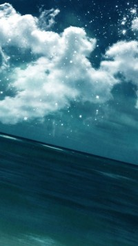 Sky Cloud Sea