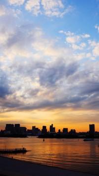 Tokyo At Sunset