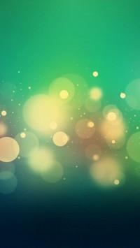 Yellowish Dots Green