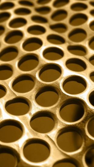 Metal Background Grid Circles Texture