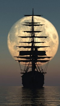 Moon Pirate Ship