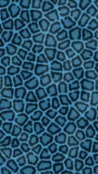 Leopard Hide Blue