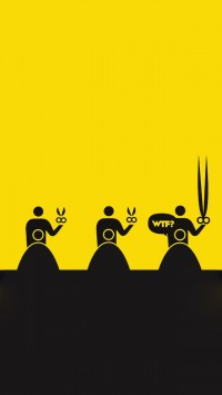 Scissors Cartoon Characters