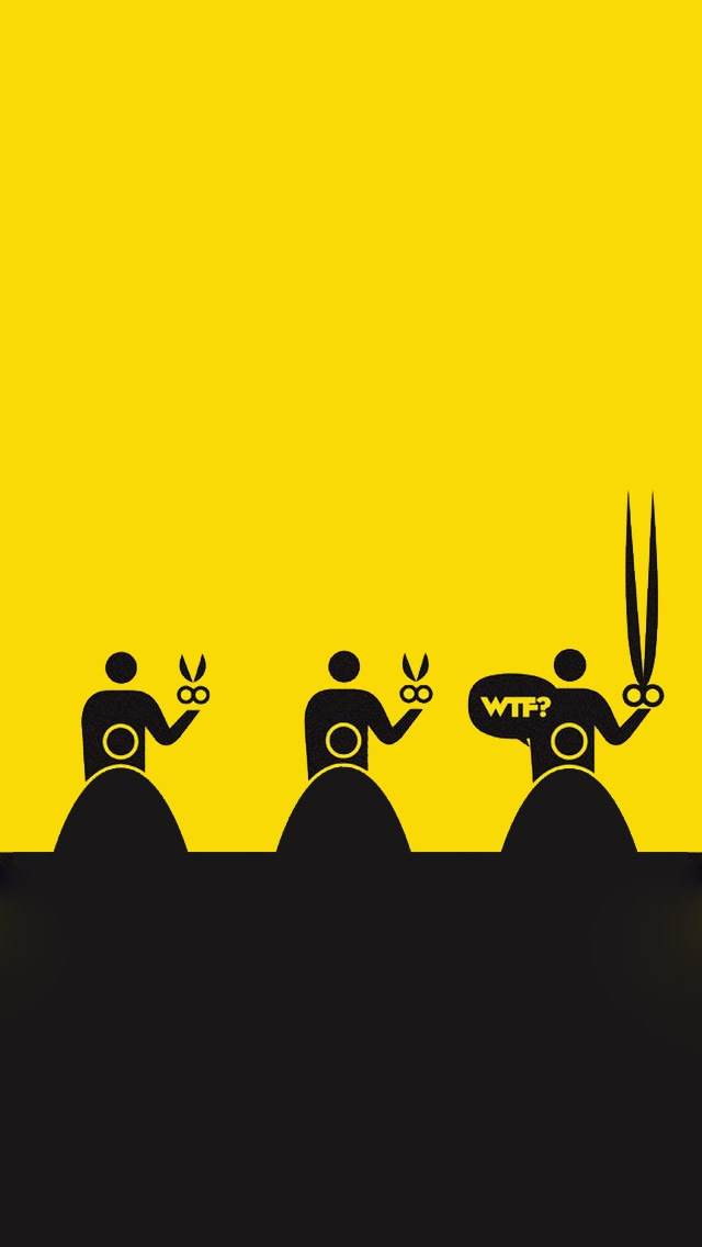 Scissors Cartoon Characters The Iphone Wallpapers