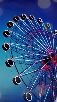 Ferris Wheel Night