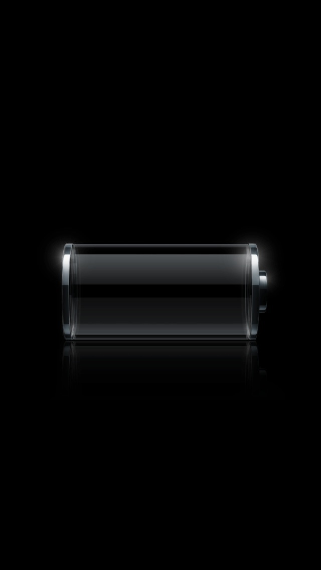 Empty Battery - The iPhone Wallpapers
