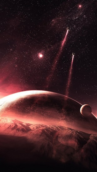 Red Planets Spaceship