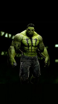 Sponsored Superheroes Hulk