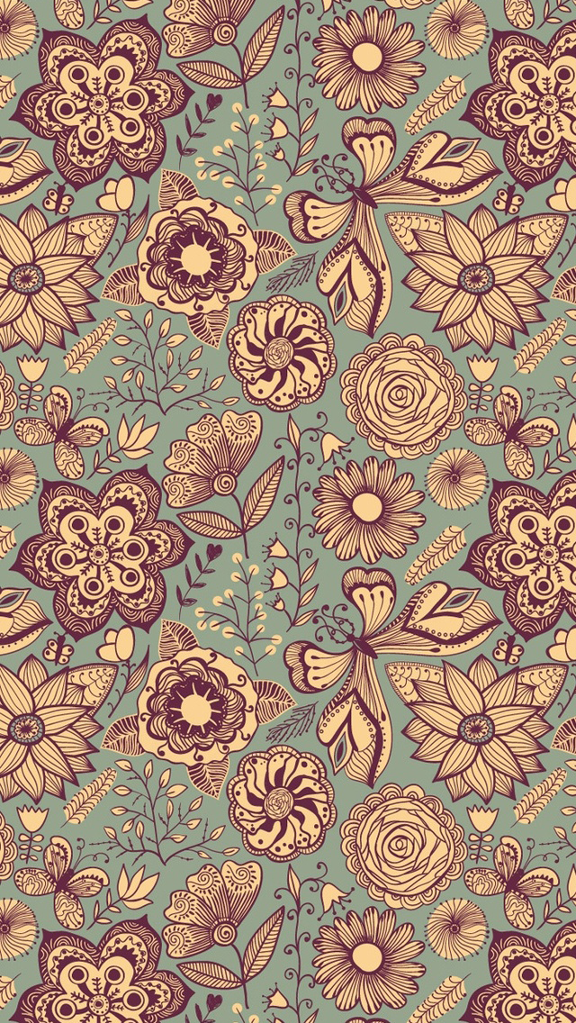 vintage wallpaper iphone the gallery for gt vintage floral iphone wallpaper 1005
