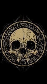 Vintage Skull Symbol