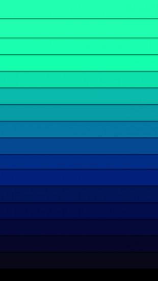 iPhone 5 Blue Palette