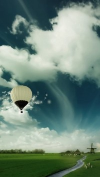 Air Ballon Flying High