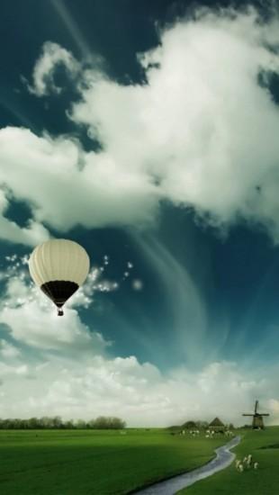 Air Ballon Flying High