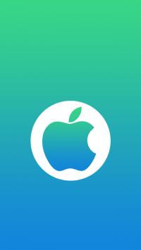 Circle Apple Logo