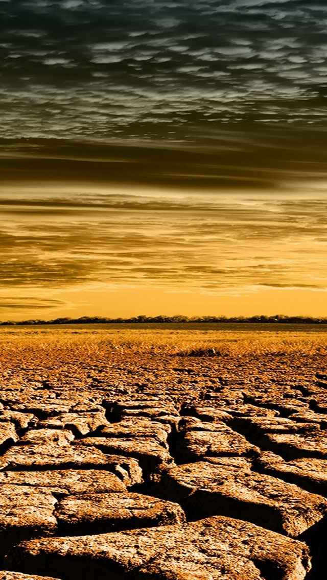 Desert Cracked The Iphone Wallpapers