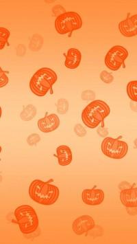 Halloween Pumpkins Background