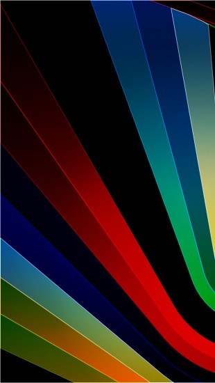 Abstract Bright Strips