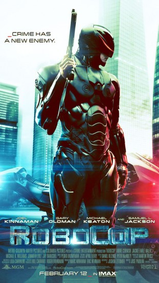 New poster for RoboCop
