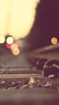 Train Tracks and Lights