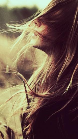 Wind Blowing Hair