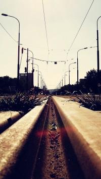 City Train Tracks