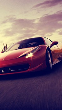 Ferrari 458 Spider Sports Car