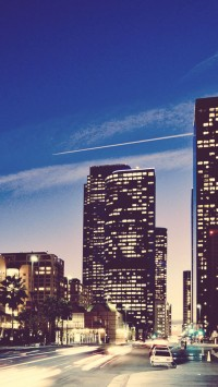 Los Angeles Sunset Cityscapes