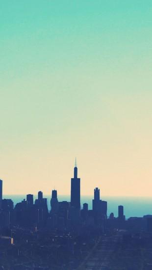 Sunrise cityscapes dawn chicago