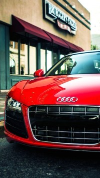 Audi R8 Spider Red
