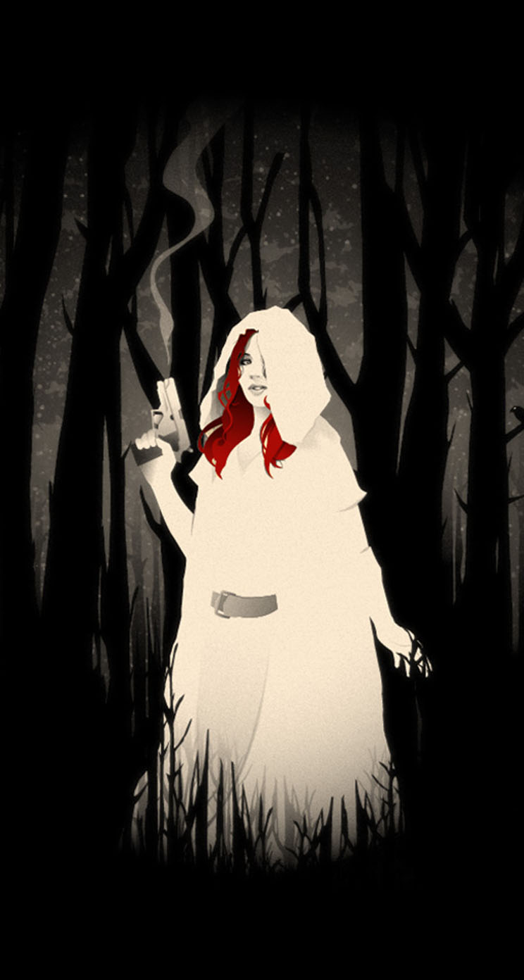 The Iphone Wallpapers Little Red Riding Hood