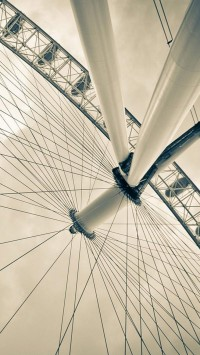 London Eye From Beneath