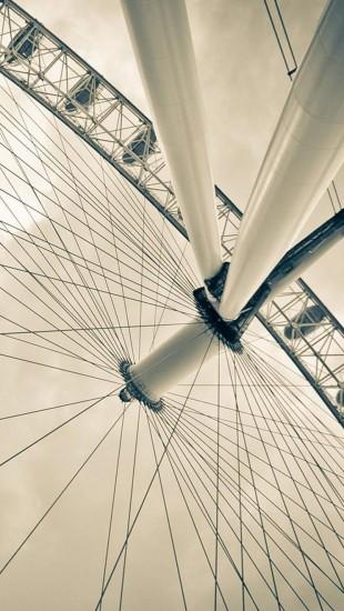 London Eye From Beneath