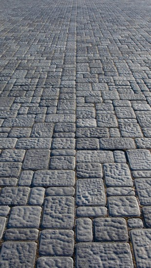 Stones Paved Road