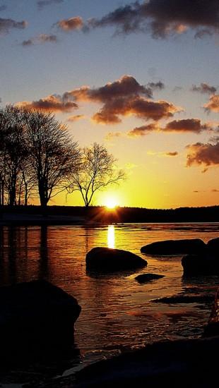 Sunset For Patient Fishermen