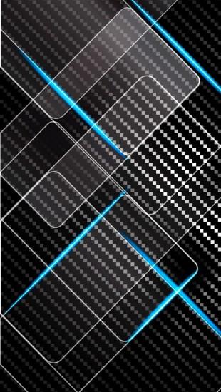 Dark Metallic Carbon Texture Background