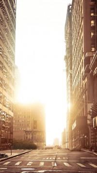 New York Empty Street