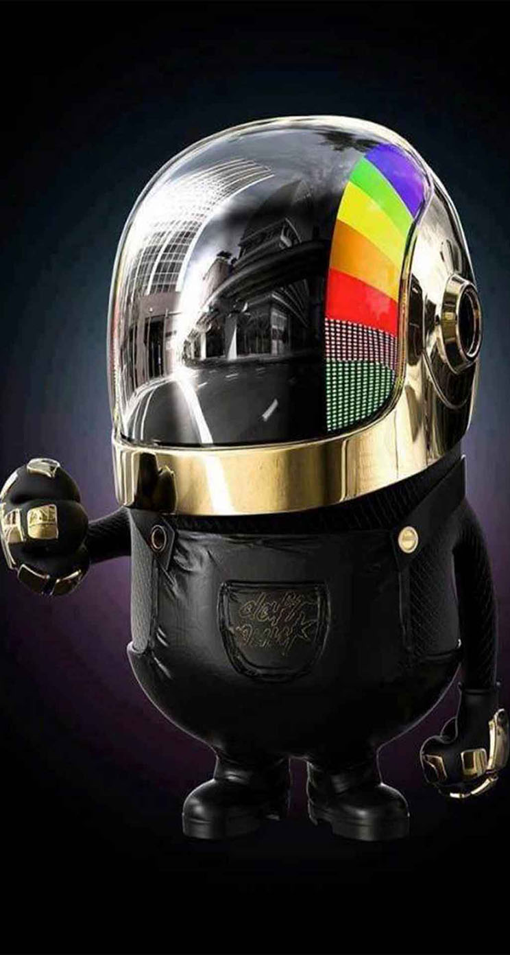 Daft Punk Minion - The iPhone Wallpapers