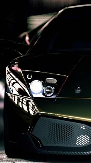 Dark Green Lamborghini Murcielago